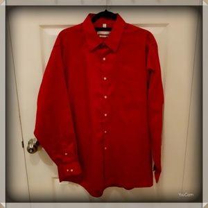 Geoffrey Beene Dress Shirt - Red
